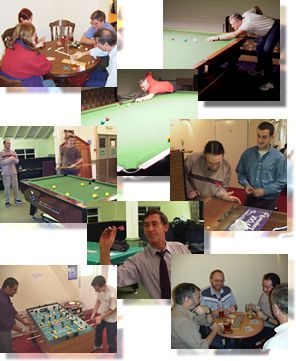 Some pictures of indoor games 2001